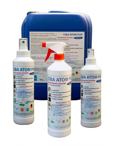 Ciba Atom Pur - Igienizzante Disinfettante